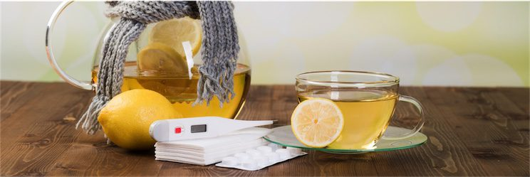 herbal tea and naturopath tonics to boost immune function