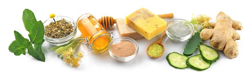 Selection of herbal medicine for skin conditions