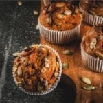 pumpkin and walnut muffin recipe