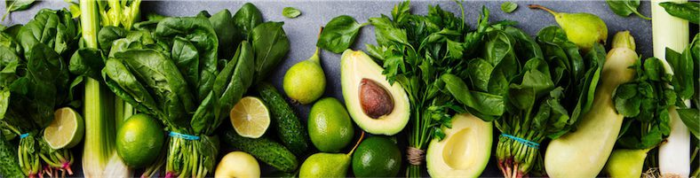 Selection of green vegetables recommended by Brisbane Nutritionist