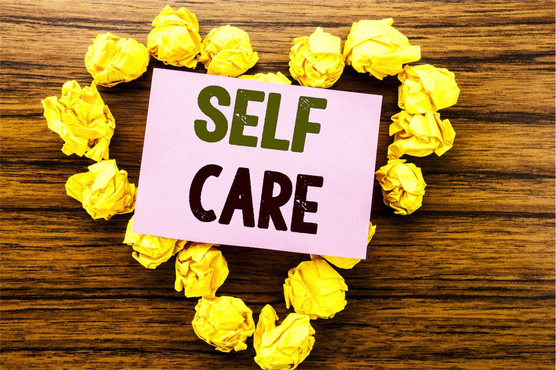 yellow rose and self care sign menopause treatment brisbane