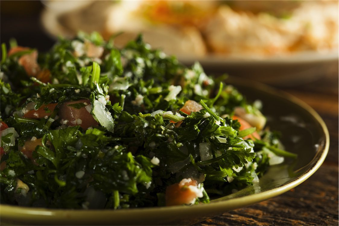 tabouli food as medicine for viral infections